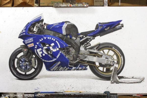 2006鈴鹿8耐優勝マシンのイラスト