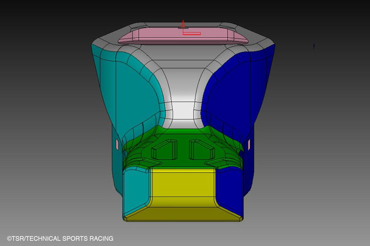 ガソリンタンク3CAD図面