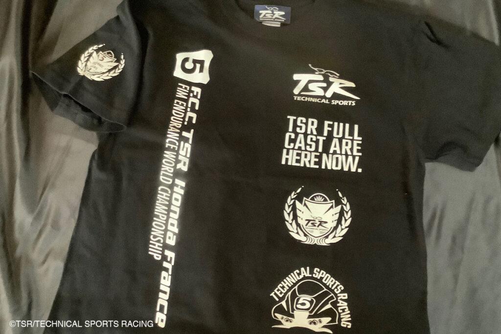 TSRチームTシャツ・ブラック